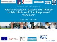 Real-time assistive, adaptive and intelligent mobile robotic control ...