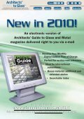 Jan/Feb 2010 - Architect's Guide to Glass & Metal - Page 7