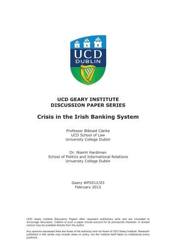current crisis of banking system in Record of banking crises in and outside the us, and places the recent crisis in   much more prevalent in the current financial system than they were in the past.