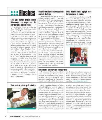 Flashes - Cozinha Profissional