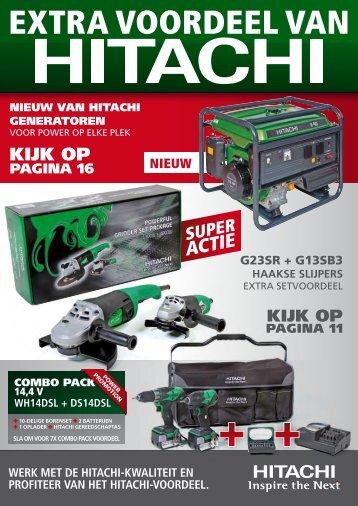 Hitachi acties 2009 - NL