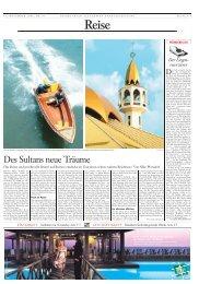 Des Sultans neue Träume - Silke Pfersdorf l Journalistin l Hamburg