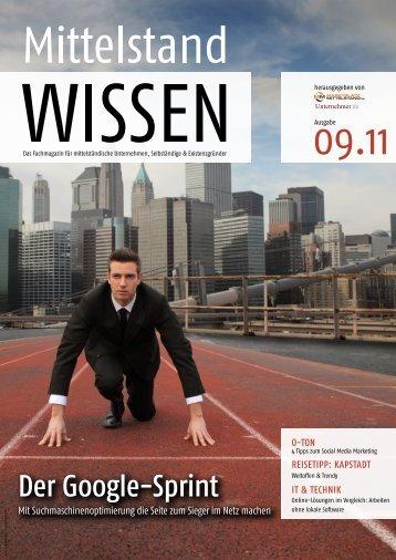 Suchmaschinenoptimierung - Unternehmer.de