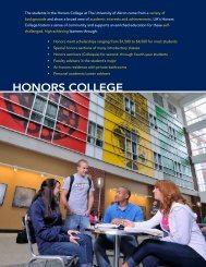 Honors brochure - The University of Akron