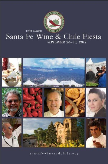 Santa Fe Wine & Chile Fiesta - Dine Here US