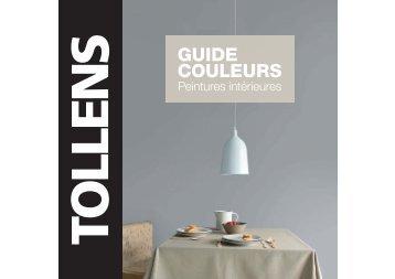 Guide couleurs peintures intérieures Tollens - Tollens Particuliers