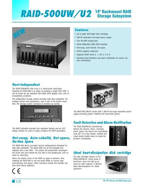 Raid 500uw U2 Universal Computer Systems