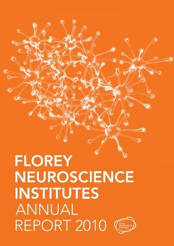 Annual Report 2010 - Florey Institute
