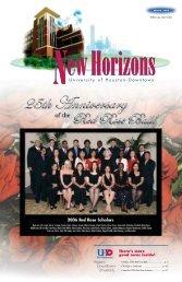 New Horizons - Spring 2006 - the University of Houston-Downtown!