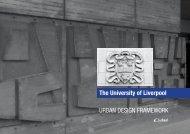 URBAN DESIGN FRAMEWORK The University of Liverpool - Urbed