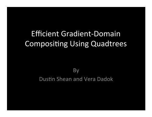Gradient-Domain Presentation.pptx