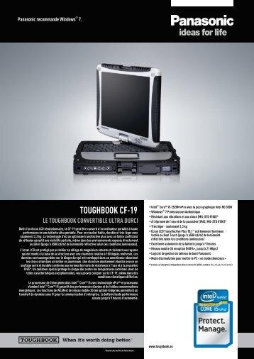 PC Portable Ultra Durci Panasonic CF19