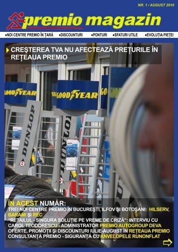 Nr. 1 / august 2010 - Mondo Trade