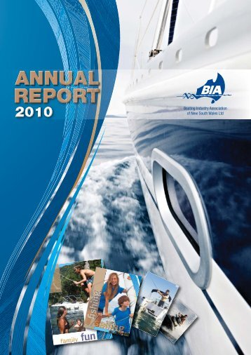 Download 2010 Annual Report - Boating Industry Association of NSW