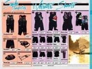 2013 Buoyancy Wetsuits & PFD vests
