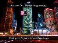 Always On. Always Augmented. - ARM