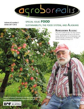 : FOOD - University of Alaska Fairbanks