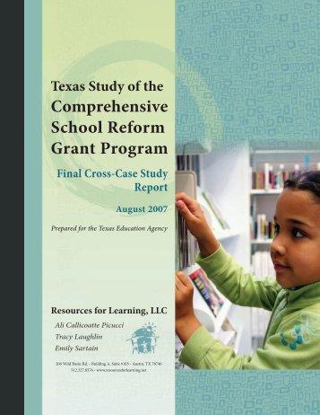 Executive Summary - TEA - Home School Information - Texas ...