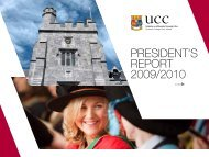 PResident's RePORt 2009/2010 - University College Cork