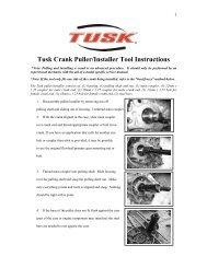 Tusk Enduro Lighting Kit Instructions - Rocky Mountain ATV/MC