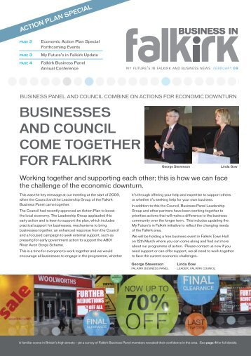 Special Edition: February 2009 (PDF, 301KB) - My Future's in Falkirk