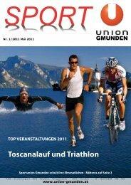 Toscanalauf und Triathlon - Sportunion Gmunden