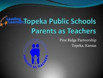 Topeka Public Schools Parents as Teachers