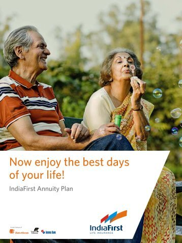 IndiaFirst Annuity Plan - Life Insurance
