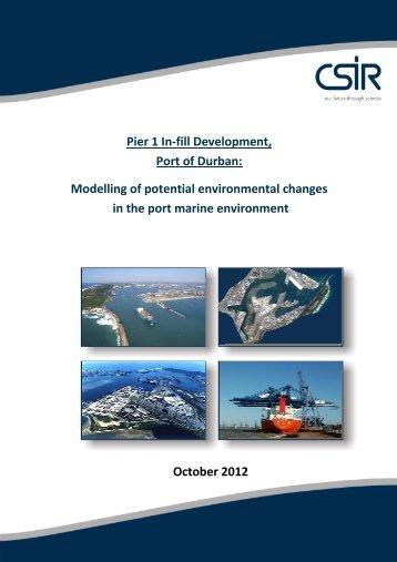 Pier 1 In-fill Development, Port of Durban - Berths 203 to 205 ...