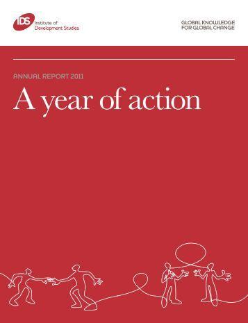 annual report 2011 - Institute of Development Studies