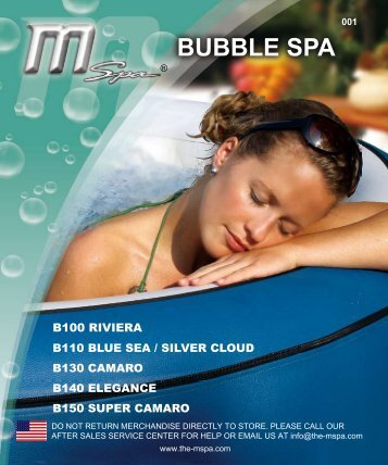 BUBBLE SPA - Zwembad in de tuin?