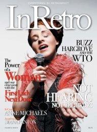 print issue - InRetro Magazine + The InRetro Radio Network