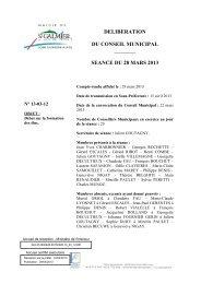 Débat sur la formation des élus - Site officiel - Mairie de Saint-Galmier