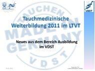 pdf-Präsentation - Neues in der Ausbildung - LTVT