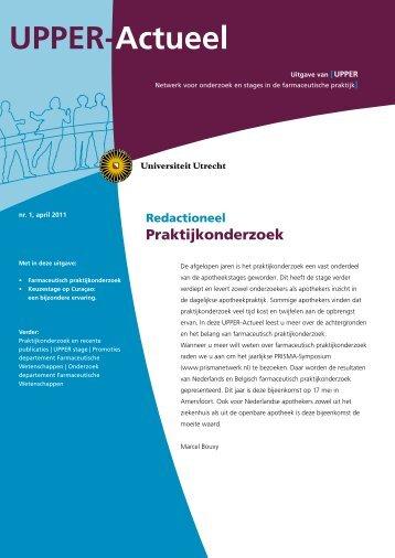 UPPER-Actueel - Universiteit Utrecht