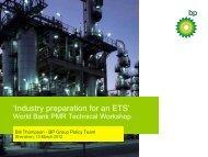 Industry Preparation for Emissions Trading - Partnership for Market ...
