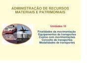 ADM MATERIAIS - Unidade 10.pdf - FESP