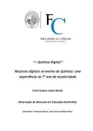Recursos digitais no ensino da Química - Nautilus - Universidade de ...