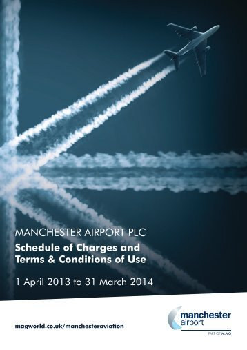 Fees and Charges - Manchester Airport