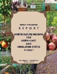 Impact evaluation Report of HMNEH in XI th Plan - SFAC