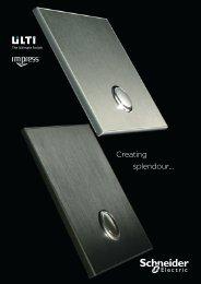 Ulti brochure (pdf 3.8 Mb) - Schneider Electric
