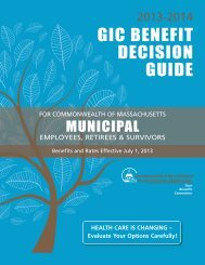 GIC Benefit Decision Guide - City of Somerville