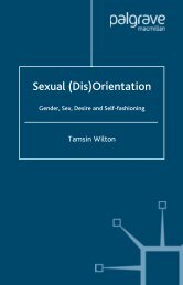 Sexual (Dis)Orientation: Gender, Sex, Desire and Self ... - Trans4mind