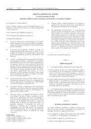 DIRECTIVA 2002/90/CE DEL CONSEJO de 28 de ... - BOE.es
