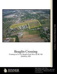 Beaglin Crossing - Property Line