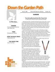 Issue 130 - Purdue Plant and Pest Diagnostic Laboratory - Purdue ...