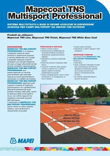 Mapecoat TNS Multisport Multisport Professional ... - Crocispa.it