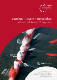 Junior Professional Management - Das ZWM