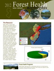 NJ - Forest Health Monitoring