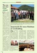 Die Regionalzeitung der Gemeinden Deutschfeistritz, Großstübing - Seite 4